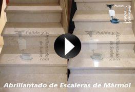 Vídeo de Abrillantado de Escaleras de Mármol