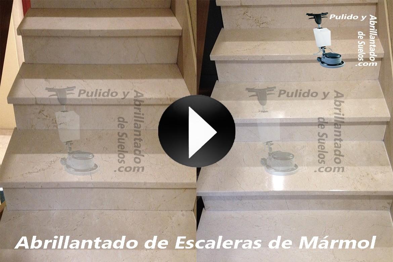 Im genes y v deos tratamiento de suelos y escaleras madrid for Limpieza de marmol