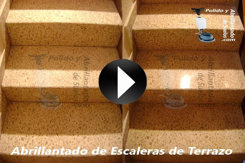 Vídeo de Abrillantado de Escaleras de Terrazo
