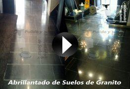 Vídeo de Abrillantado de Suelos de Granito