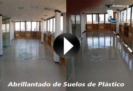 Vídeo de Abrillantado de Suelos de Plástico o Suelos Vínílicos