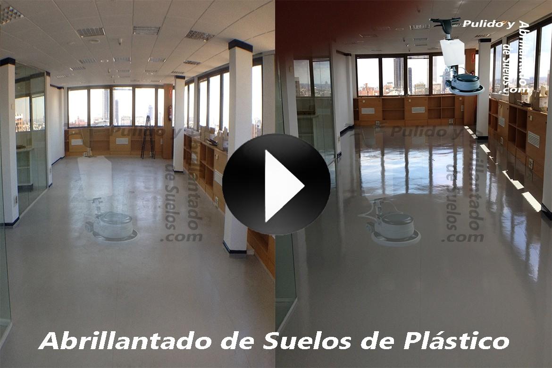 Vídeo de Abrillantado de Suelos de Plástico