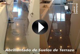 Vídeo de Abrillantado de Suelos de Terrazo