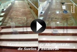 Vídeo de Mantenimiento de Suelos y Escaleras