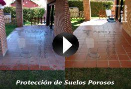 Vídeo de Protección de Suelos Porosos