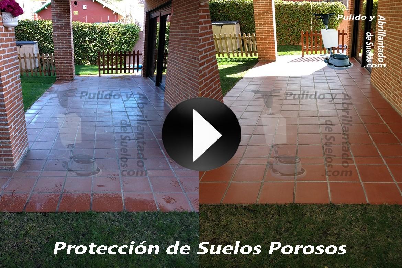 V deo de protecci n de suelos porosos barro terrazas - Proteccion para terrazas ...