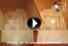 Vídeo de Pulido de Escaleras de Mármol