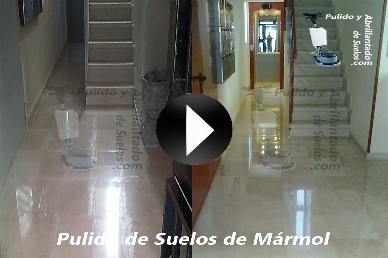 Vídeo de Pulido de Suelos de Mármol