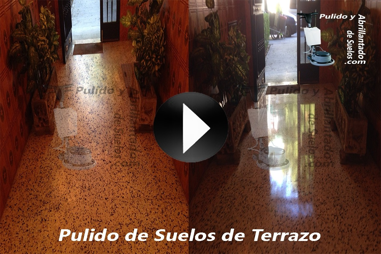 Vídeo de Pulido de Suelos de Terrazo