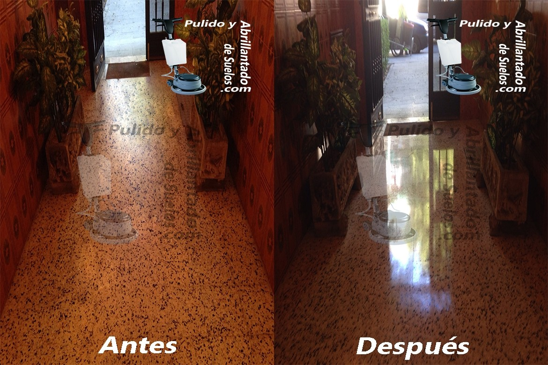 Pulido de suelos de terrazo madrid for Como pulir suelo de terrazo