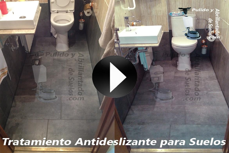 Vídeo de Tratamiento Antideslizante para Suelos